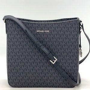 Michael Kors Large Messenger Bag Black